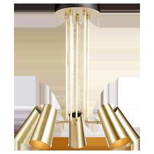 Cypress 5-Arm Chandelier