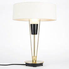 Ensley Table Lamp - Linen Shade