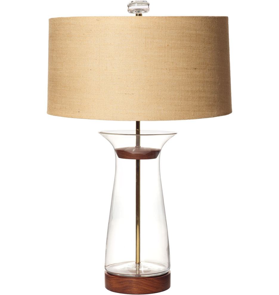 campaigns table floor lamps clear flare table lamp. Black Bedroom Furniture Sets. Home Design Ideas