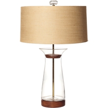 Clear Flare Table Lamp