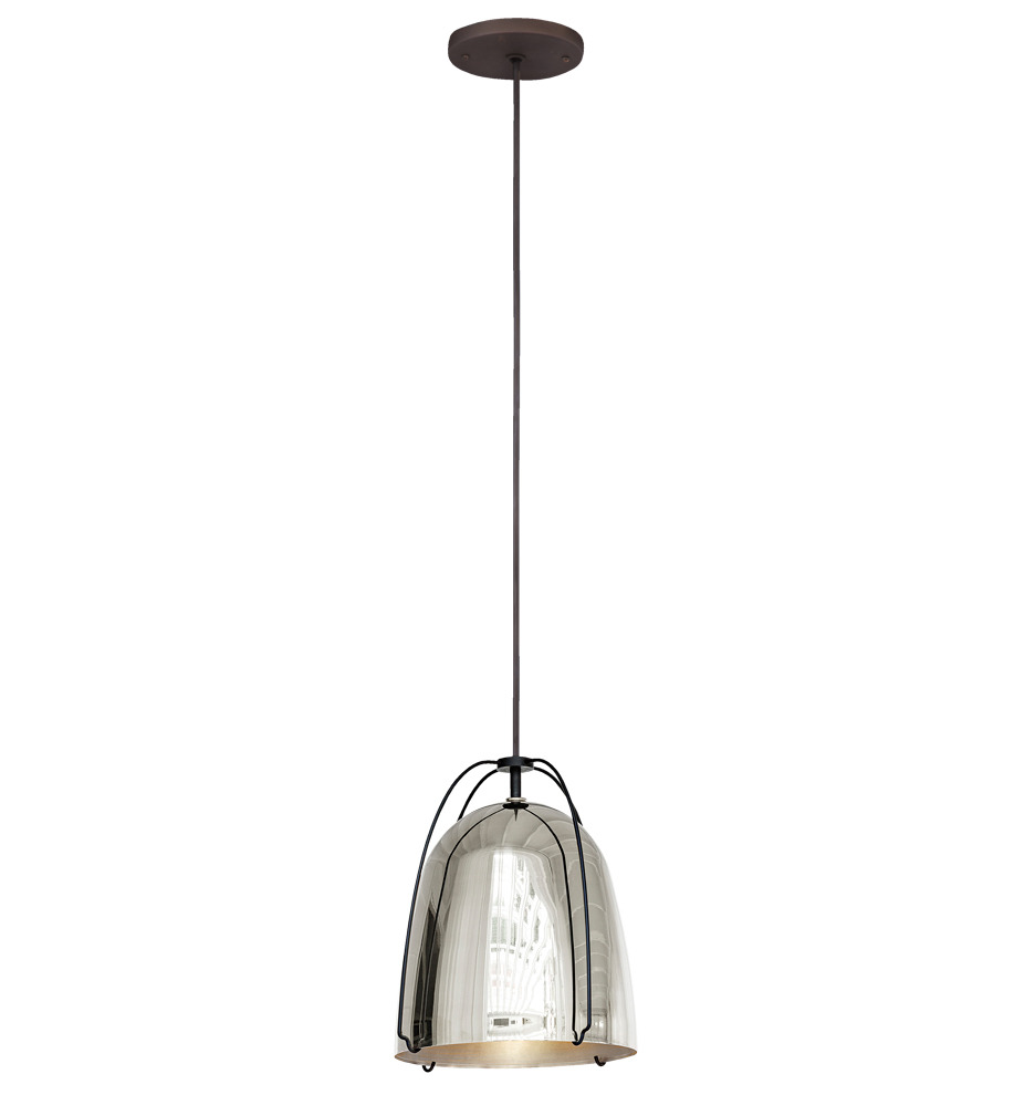 Haleigh Wire Dome Pendant 8 In Rejuvenation