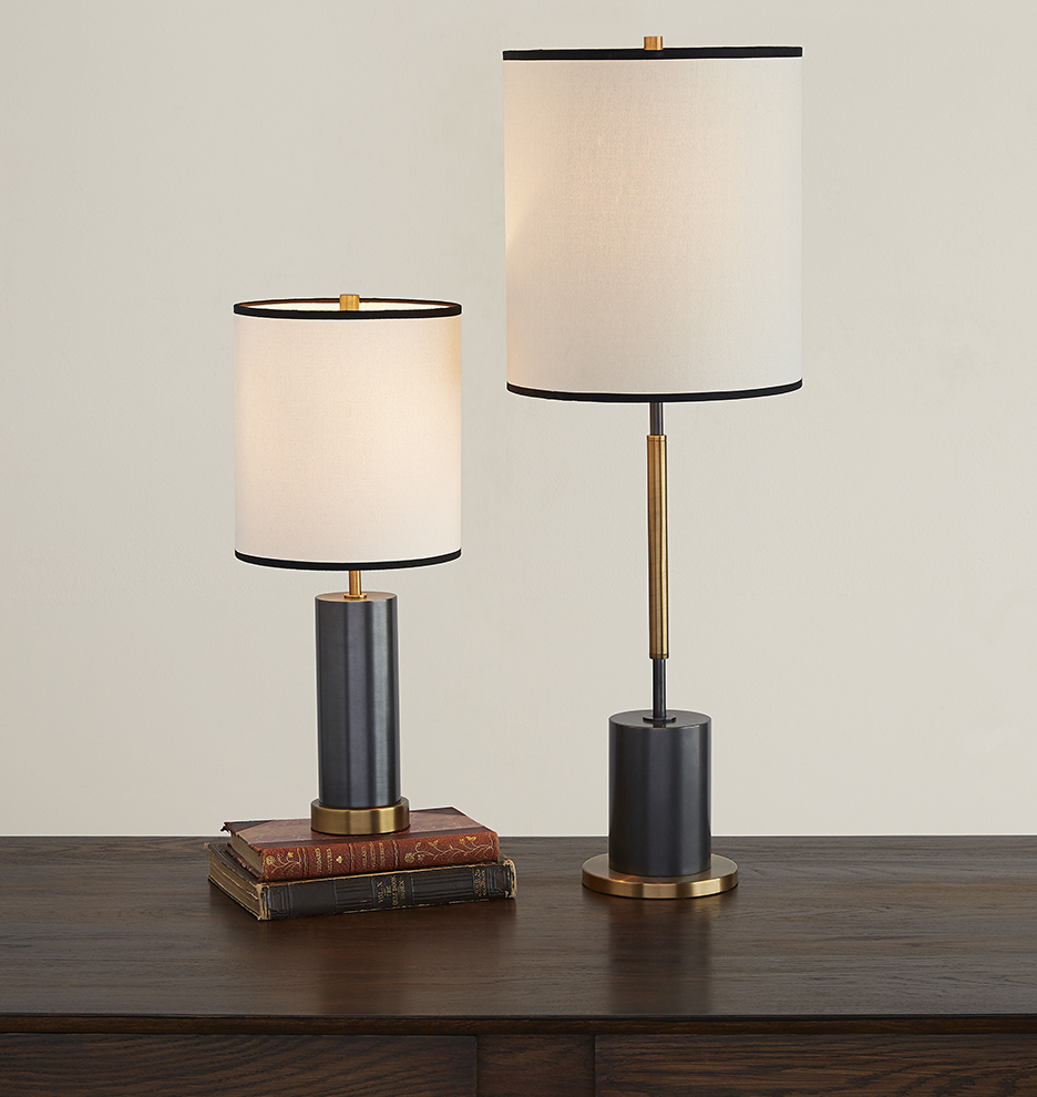 Cylinder Accent Table Lamp