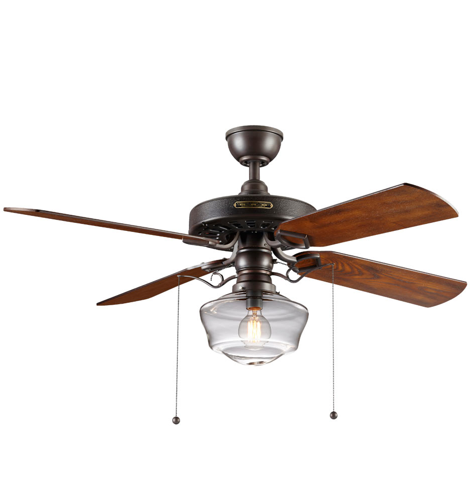 60quot Casa Equinox Schoolhouse Bronze Ceiling Fan 40189427004k994 Light Kit Included
