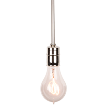 bare bulb pendant - Glass Pendant Lighting