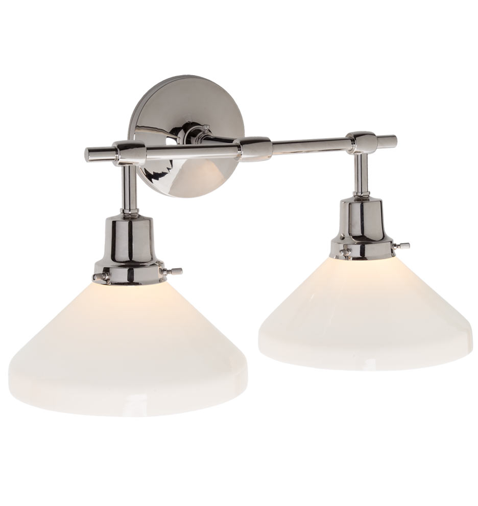 eastmoreland double sconce - Double Sconce Bathroom Lighting