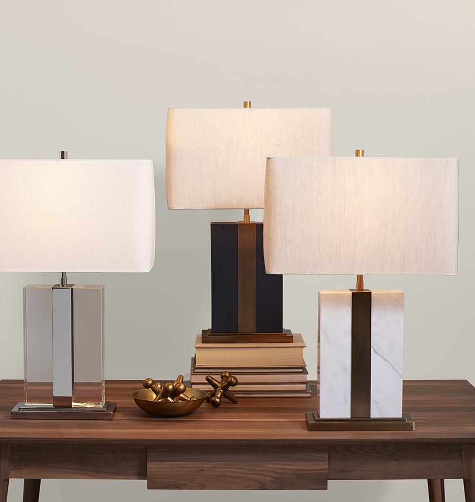 Monolithic Table Lamp Rejuvenation