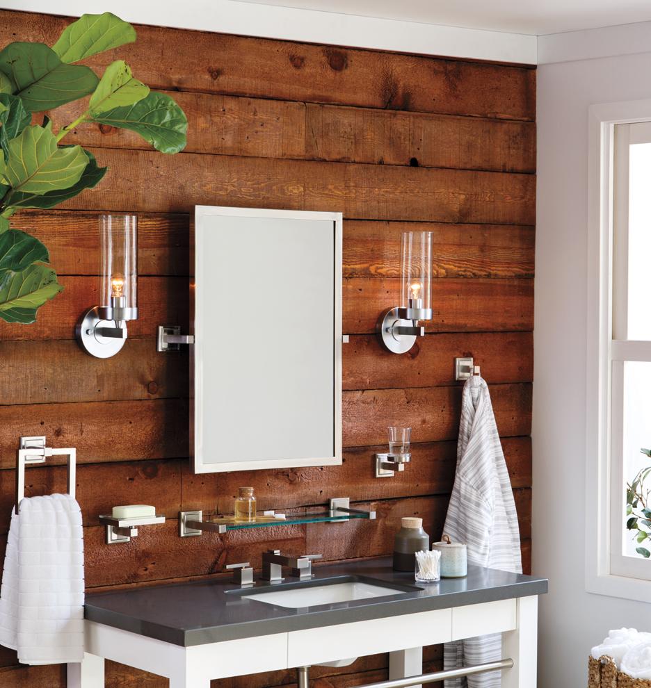 Bathroom Sconces Facing Up Or Down momo single sconce | rejuvenation