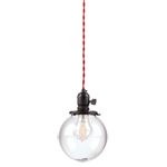 Baltimore Classic Cloth-cord Plug-in Pendant