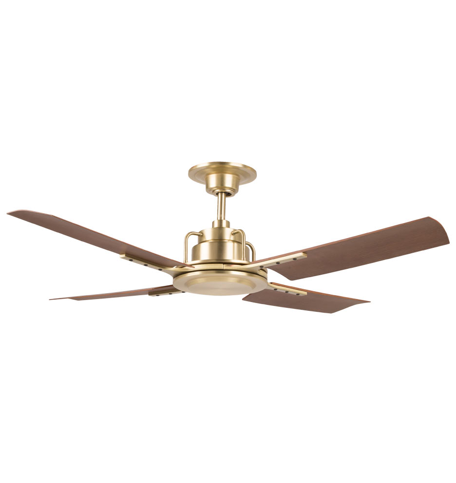 ceiling fan 4 blades. peregrine industrial ceiling fan - no light 4-blade | rejuvenation 4 blades