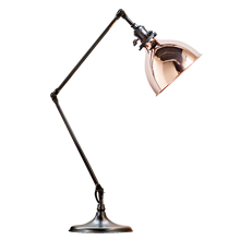 Grandview Task Lamp - Oil-Rubbed Bronze with Copper shade