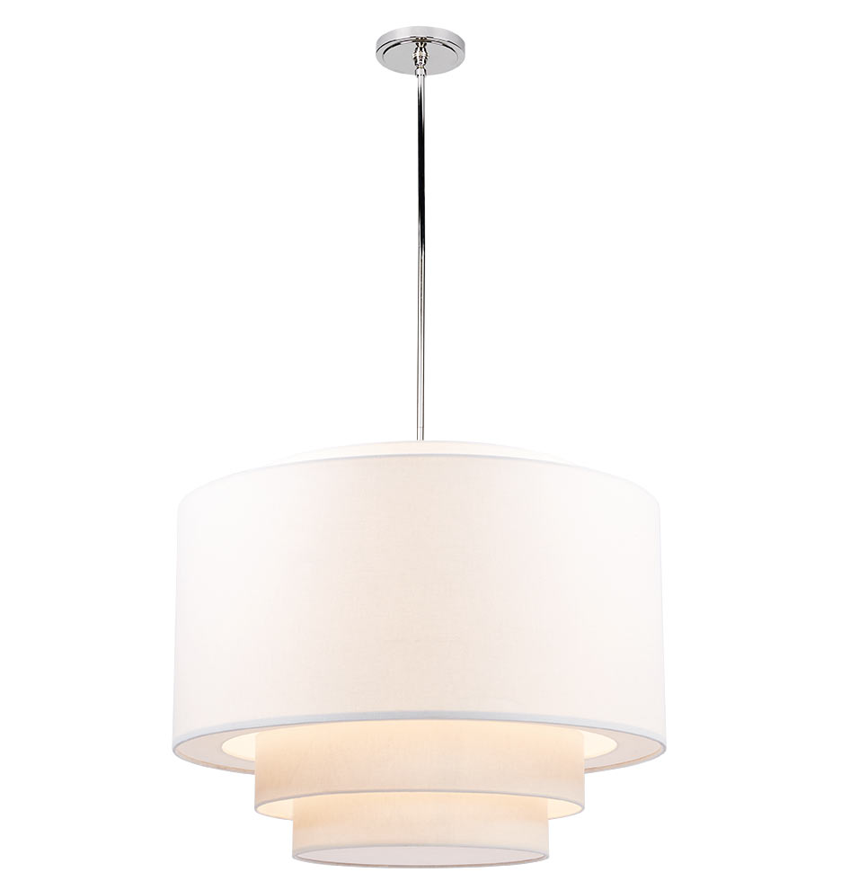 tiered drum pendant  large  rejuvenation -