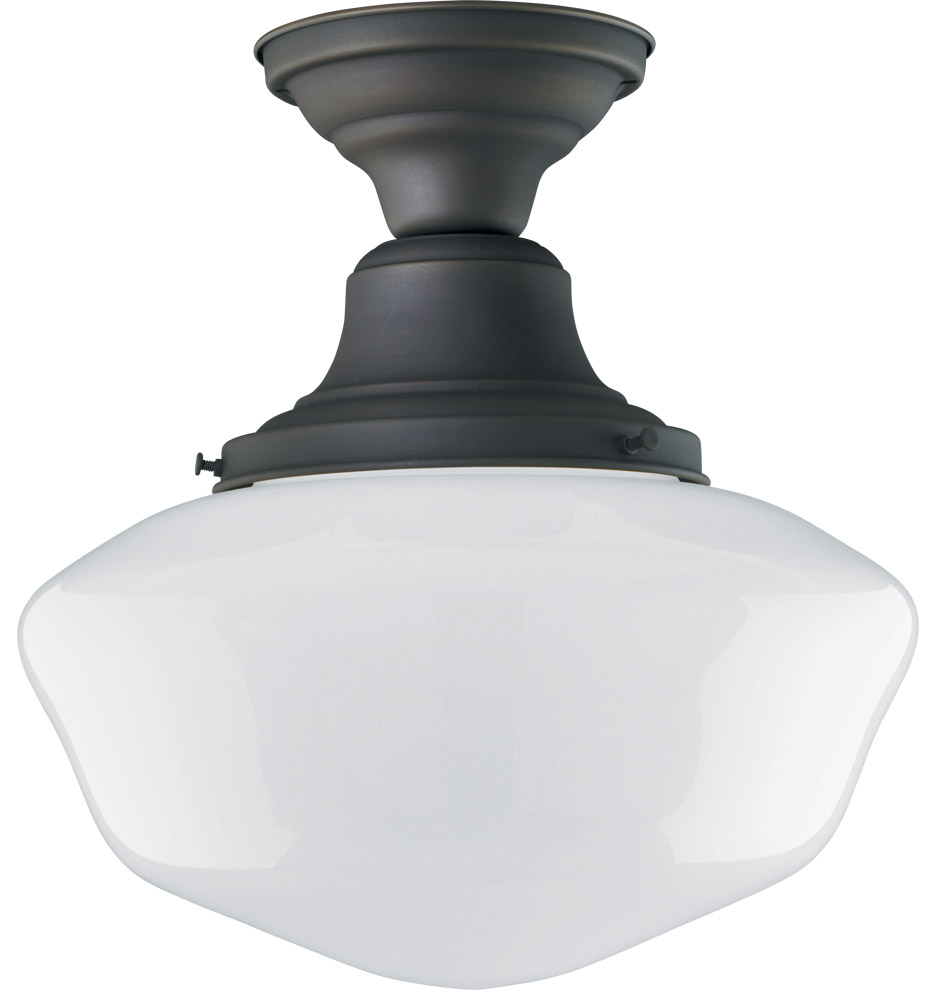 lighting jefferson 6in semi flush z008220