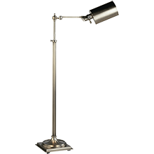 Adj. Pharmacy Floor Lamp