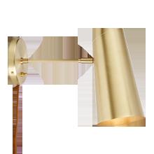 Cypress Medium Sconce Plug-In