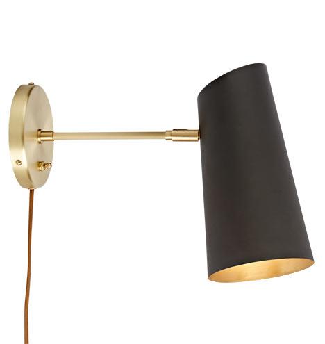 Cypress Medium Sconce Plug In Rejuvenation