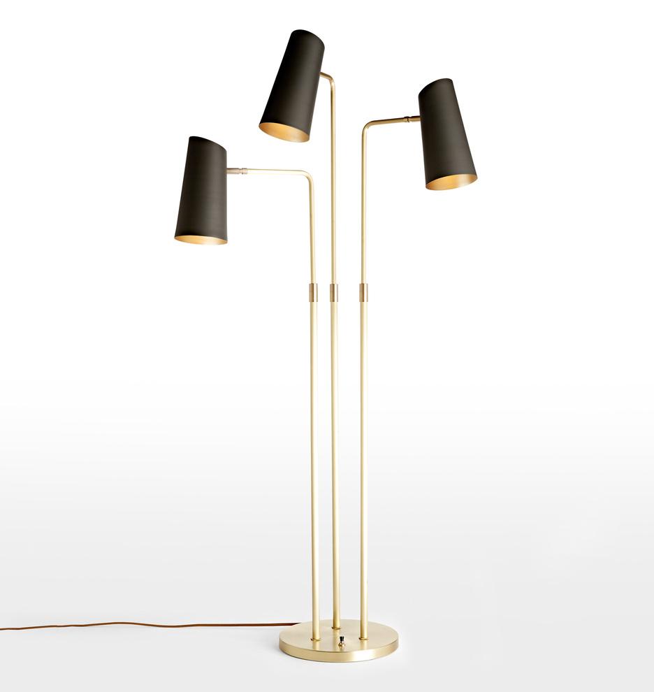 Cypress 3 Arm Floor Lamp Rejuvenation