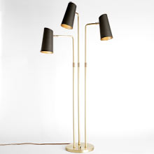 Cypress 3-Arm Floor Lamp