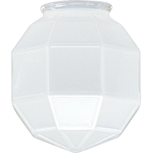 Craftsman Frosted Faceted Shade