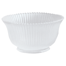 Prismatic Satin Frosted Ribbed Gas-Style Shade