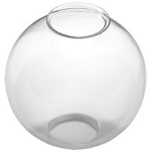 Industrial Clear Glass Globe