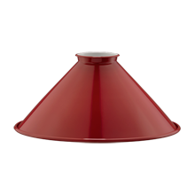8in. Industrial Painted Steel Cone - Red