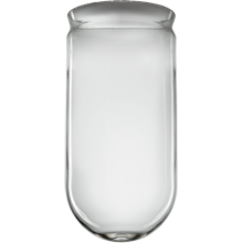 8in. Clear Tube Shade