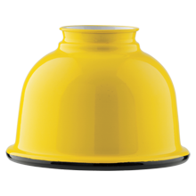 5in. Metal Dome Shade - Yellow