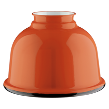 5in. Metal Dome Shade - Orange