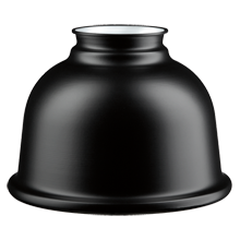 5in. Metal Dome Shade - Matte Black