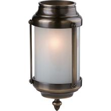 Classic Cylinder Lantern in Antique Copper