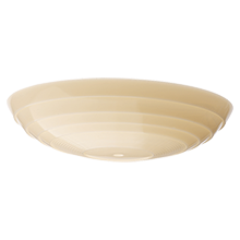 Streamline 16in. Concentric Ivory Glass Bowl Shade