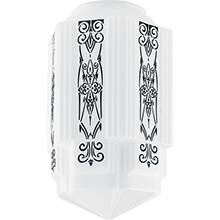 Deco 16in. Decorated Shade