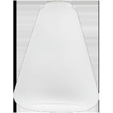 Mid-Century Satin Cone Shade