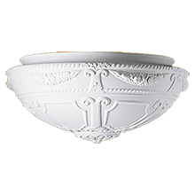 Colonial 16in. Bowl Shade