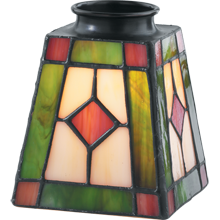 Tiffany-Style Stained Glass Shade