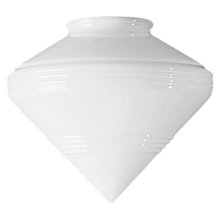 Streamline 9in. Opal Cone Shade
