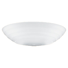 Streamline 14in. Concentric Satin Etched Bowl Shade