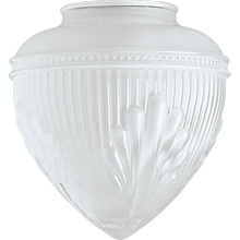 Decorative Frosted Teardrop Shade