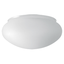 Classic 12in. Frosted Shallow Bowl Shade