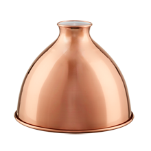 7in. Industrial Copper Dome - Polished Copper
