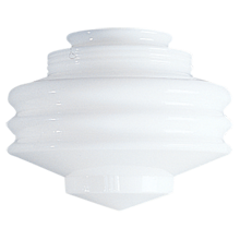 Streamline 8in. Opal Concentric Shade