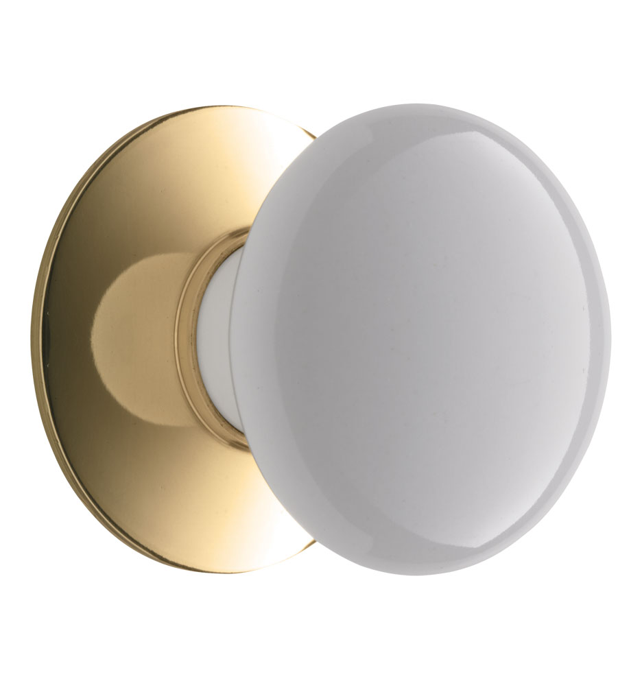 Kitchen Cabinet Knobs With Backplates Porcelain Cabinet Knob With Brass Backplate Rejuvenation