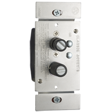 Trimmed Push-Button Dimmer Switch