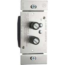 Trimmed Push-Button Three-Way Dimmer Switch