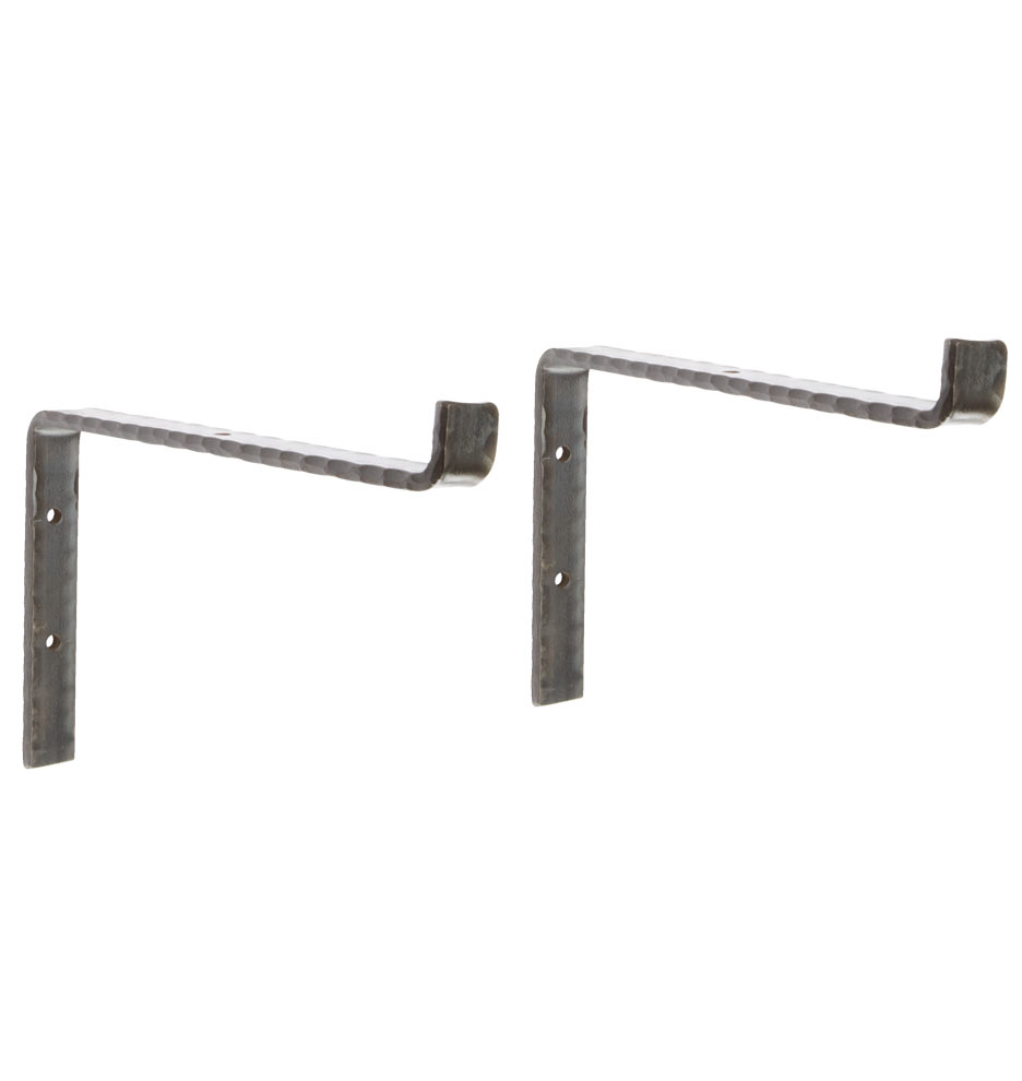 Industrial Simple Iron Shelf Brackets Rejuvenation