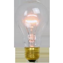 40W A19 Clear Bulb