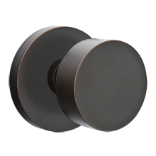 Round Knob with Disk Backplate