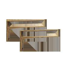 Small Strap Shelf Bracket
