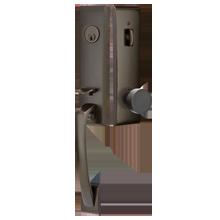 Apollo Tubelatch Lockset with Modern Round Knob
