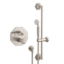 Canfield Thermostatic Shower Set With Handheld